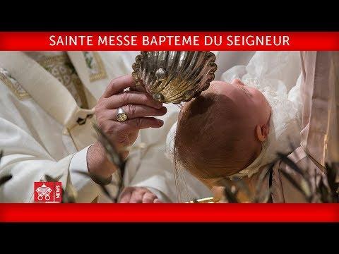 Messe du 7 janvier 2018 - Baptême du Seigneur