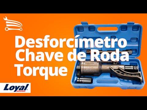 Desforcímetro Chave de Roda Torque - Video