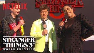 Gaten Matarazzo & Noah Schnapp | Stranger Things 3 Premiere | Netflix