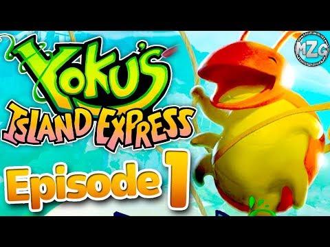 Gameplay de Yoku's Island Express