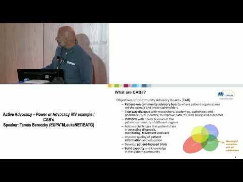 7 Active Advocacy – Power or Advocacy HIV example CAB's Tamás Bereczky