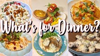 WHAT'S FOR DINNER? | QUICK + EASY FAMILY DINNER IDEAS