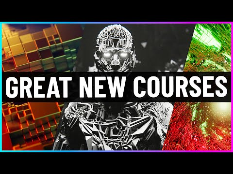 Great NEW Courses for Blender! (And More)
