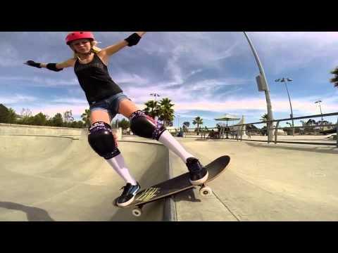 The Girls of Flood Kontrol Skateboards