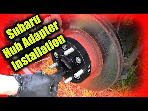 Subaru Hub Adapter Installation