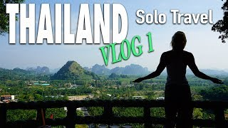 Travel Thailand Vlog 1