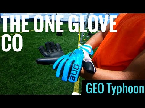 Goalkeeper Glove Review: The One Glove Co Geo Typhoon Glove Review