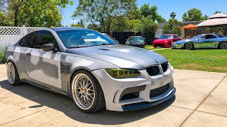 How to Wrap a BMW M3 At Home In Nardo Grey DIY Guide