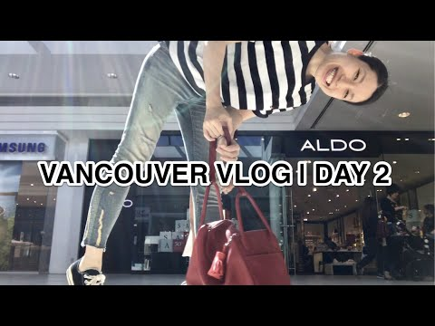 VANCOUVER VLOG   DAY 2 RICHMOND CENTER (видео)