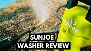 Sun Joe Pressure Washer Review And Demonstration