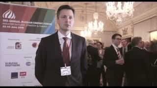 Nikita Pushkarev, GEFCO Russia, Russian Energy Forum 2016, London