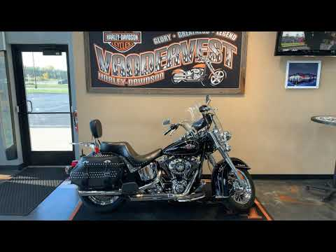 2012 Harley-Davidson Softail Heritage Softail Classic at Vandervest Harley-Davidson, Green Bay, WI 54303