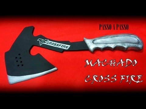 Aprenda como fazer um machado de combate do CROSSFIRE