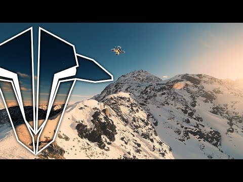 Racing Drones Down Mountain Valleys