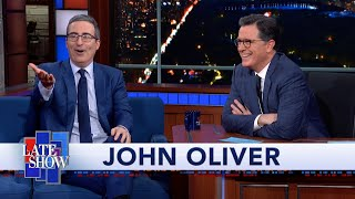 Liverpool F.C. Superfan John Oliver Likes His Team's Chances This Year