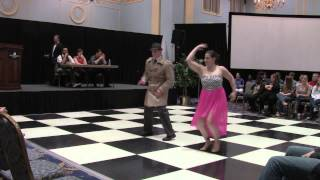 Brittany & Kyle- Dancing With the CNU Stars 2014