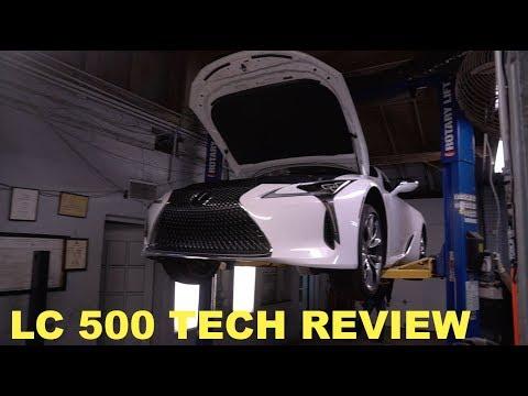 Lexus LC 500 Technical Review