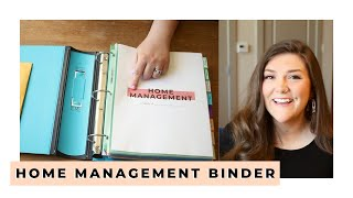 HOME MANAGEMENT BINDER— Why Use One? + A Tour Of Ours!