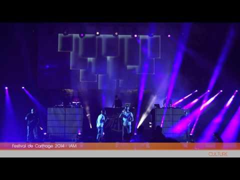 Festival de Carthage 2014 : IAM | Carthage Event Tv (видео)
