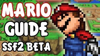 SSF2 Beta Mario Guide! - dooclip.me