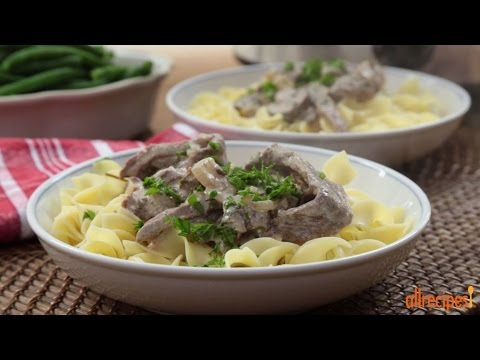 How to Make Slow Cooker Beef Stroganoff | Slow Cooker Recipes | Allrecipes.com