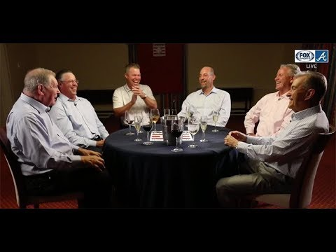 Braves Hall of Famers exchange favorite Bobby Cox ejection stories