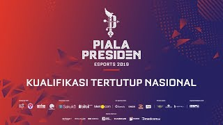 PIALA PRESIDEN ESPORTS 2019 - KUALIFIKASI TERTUTUP NASIONAL | LOUVRE JG vs EVOS