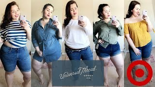 Universal Thread for TARGET Try-On HAUL & First Impression |Plus Size Fashion|