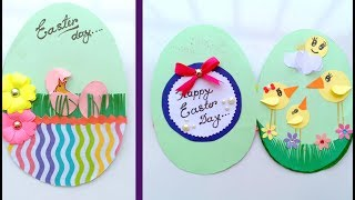 Easy Easter Cards To Make\How To Make - Easter Egg Basket Spring Card