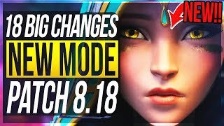 NEW 'ODYSSEY' MODE, SKINS & MORE!!! 18 BIG CHANGES & NEW OP CHAMPS Patch 8.18 - League of Legends