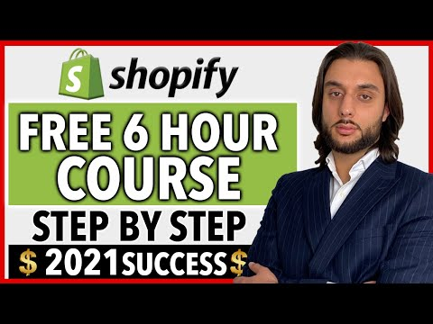 FREE Shopify Dropshipping Course | COMPLETE A Z BLUEPRINT 2021