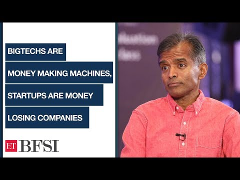BigTechs are money making machines, startups are money losing companies: Prof. Aswath Damodaran