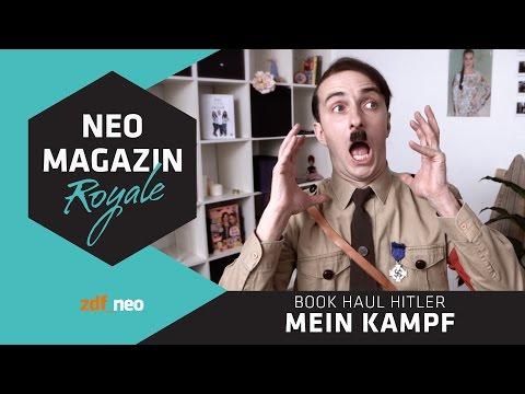 Buch Haul Hitler: Mein Kampf | NEO MAGAZIN ROYALE mit Jan Böhmermann - ZDFneo