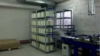 Производство стеклопластиковой арматуры линия TECHPRO 2000