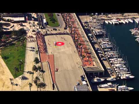 Banco santander y ferrari en barcelona videos for Banco santander sucursales barcelona