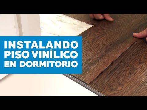 ¿Cómo instalar piso vinílico en dormitorio?