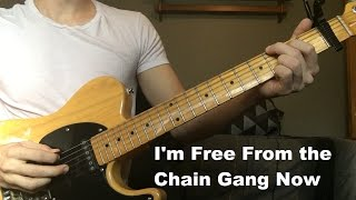 I'm Free From the Chain Gang Now by Johnny Cash   Luther Perkins Instrumental