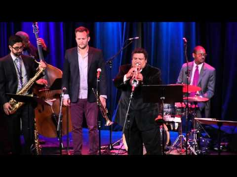 Patrick Lopez performing with Jason Marsalis