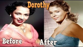Dorothy Dandridge ♕ Transformation From 15 To 42 Years OLD