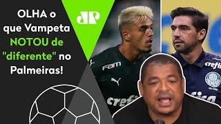 Repare neste detalhe que o Vampeta notou no time do Palmeiras
