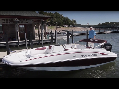 TAHOE Boats: 2017 1950 Full Review by BoatTest.com