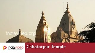 Delhi's Chhatarpur Temple; a quiet place for everyone