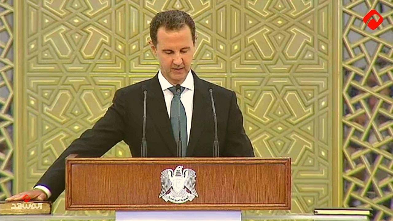 الرئيس الأسد يؤدي القسم الدستوري رئيساً للجمهورية العربية السورية