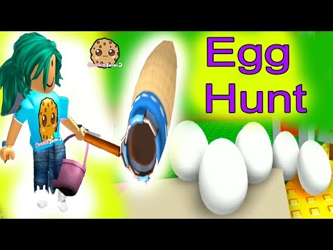 Egg Hunt ! Roblox Let's Play Video Games With Cookie Swirl C