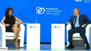 Putin's Sexist Remarks to American Reporter