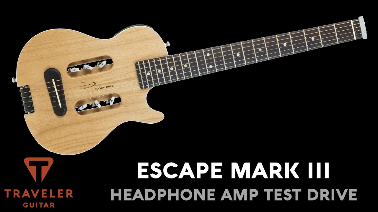 Traveler Guitar Escape Mark III Acoustic Guitar Test Drive Product Demo