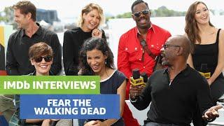 Comic-Con 2018 #IMDB Boat | Interview Fear The Walking Dead