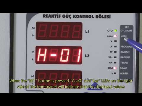 RG3-15 CLS Power Factor Controller Cosø