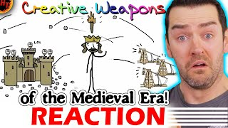 Creative Weapons of the Medieval Era! Sam O'nella REACTION