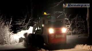 Naktinis sniego valymas